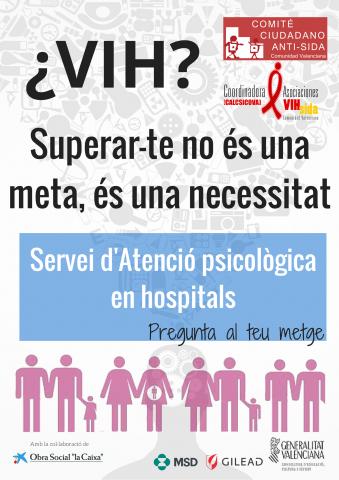 Servicio de atención psicológica en hospitales.